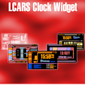 Clock Widget: LCARS theme