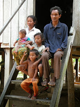 Photo: Landmine survivor Neal Harv and Family