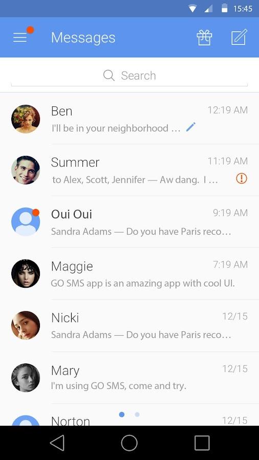 GO SMS Pro- screenshot