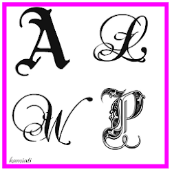 Huruf kaligrafi