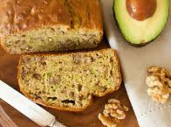 Avocado Walnut Bread Recipe