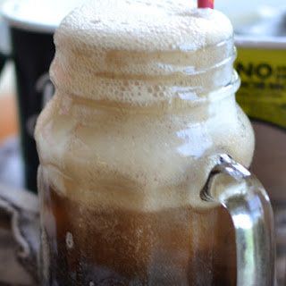Adult Root Beer Floats.