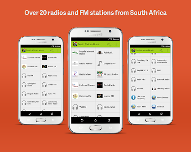 South African Radios - náhled