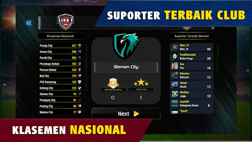 Super Fire Soccer Indonesia 2020: Liga & Turnamen apkpoly screenshots 6