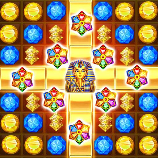 Pharaoh Curse Mysterious Jewels