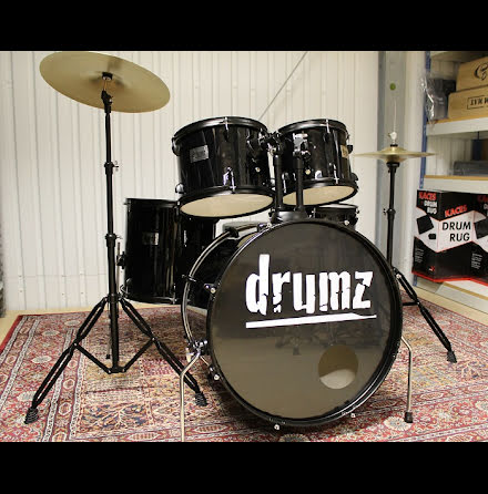 Drumz - Komplett nybörjarset