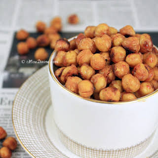 Roasted Sweet and Spicy Chickpeas.