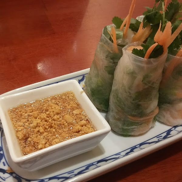 Spring Rolls with Shrimp