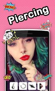 Beauty Piercing Camera Editor - náhled