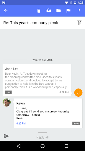 Nine Work for Android Enterprise 4.1.7h screenshots 3