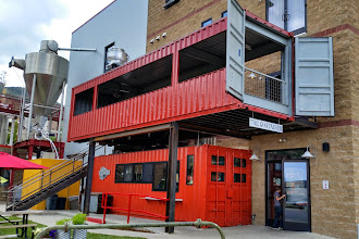 Photo: SKA Brewing, creative use for sea containers