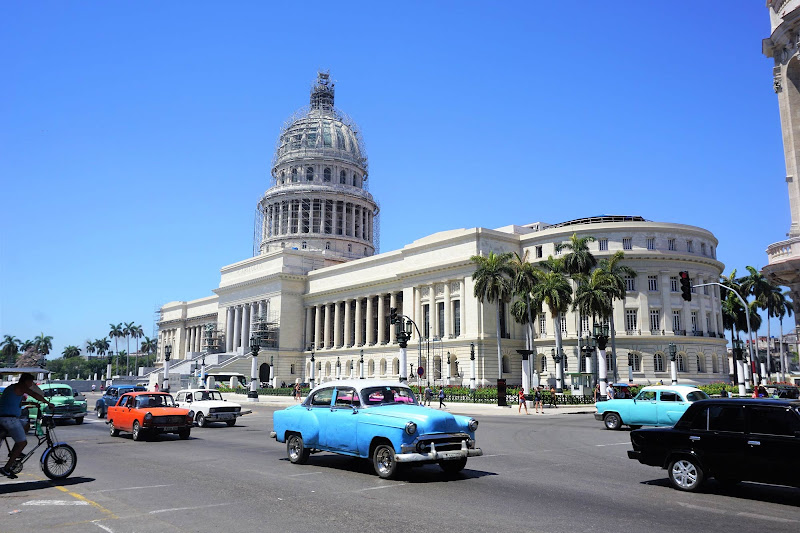 The National Capitol Building in Havana was the seat of government in Cuba until after the Cuban Revolution in 1959.