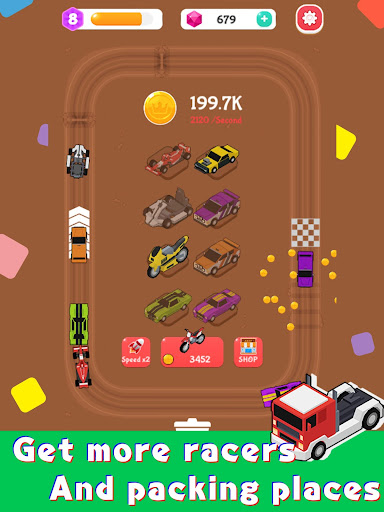 Merge Car Racer - Idle Rally Empire 2.7.0 screenshots 9