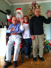 Photo: Santa with Vets and Caregiver