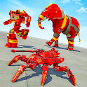 Spider Tank Robot Car Game – Elephant Robot Game icon
