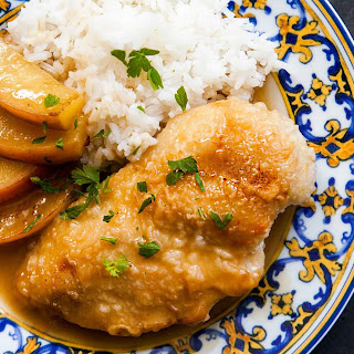 Chicken and Apples in Honey Mustard Sauce Recipe