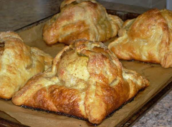 Granny Smith Apples In Puff Pastry