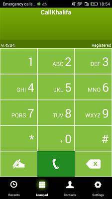 CallKhalifa vox - screenshot