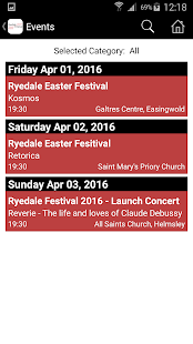 Ryedale Festival- screenshot thumbnail