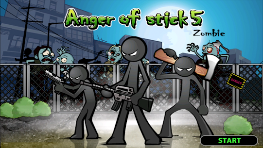 Anger of stick 5 : zombie MOD 1.1.5 (Unlimited Money) Apk 1