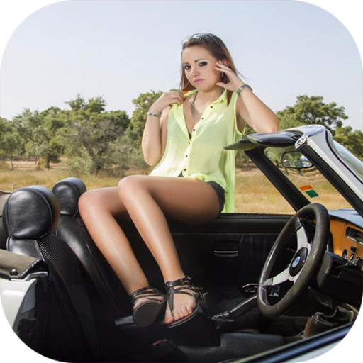 Sexy Car Model Girls Wallpaper