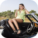 Sexy Car Model Girls Wallpaper icon