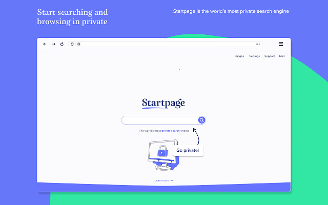 Startpage — Private Search Engine & New Tab