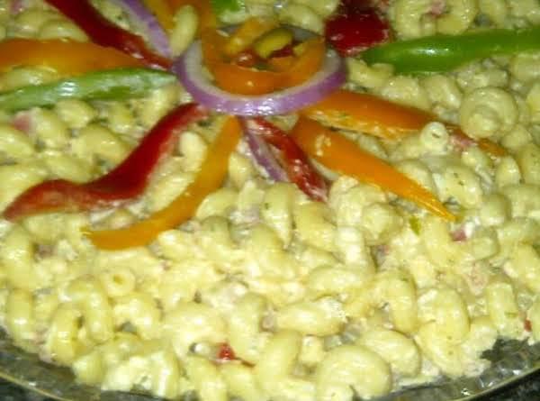 Darlene's Gourmet Sauteed Veggies Pasta Salad Recipe
