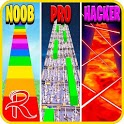 Noob vs Pro vs Hacker vs God: DanOMG icon