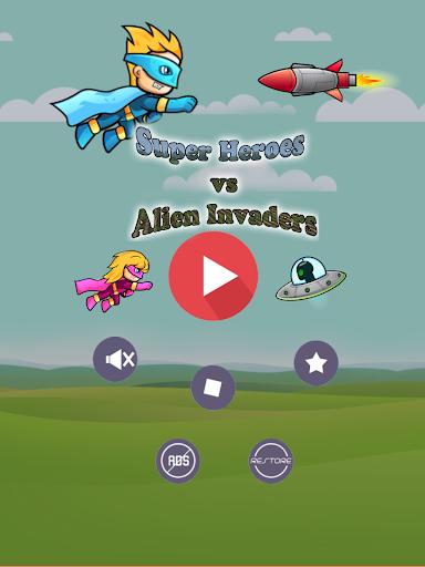 Super Heroes vs Alien Invaders
