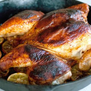 Smoky Lemon, Paprika Whole-Roasted Chicken.