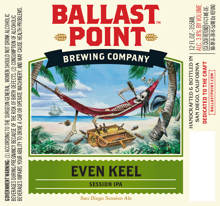 Logo of Ballast Point Even Keel