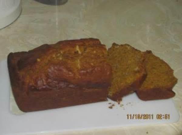 Prepared To Be Amazed Moist Pumpkin Bread!