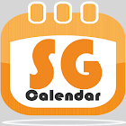 新加坡假期日历 2019 / 2020 (语音输入记事功能) icon