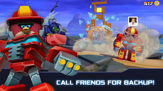 Angry Birds Transformers Mod Apk + OBB 2.0.8 (Unlimited Money) 3
