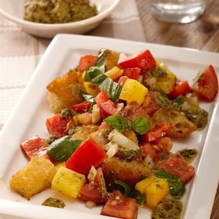 Gemüse-Ciabatta-Salat