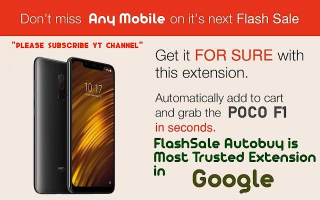 flash sale chrome extension