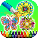 Coloring Book Mandalas icon