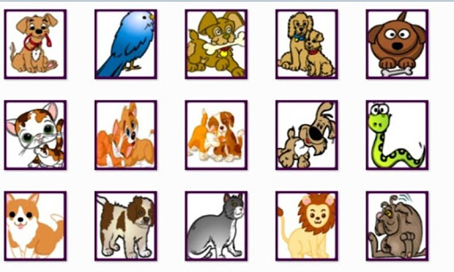 Various Pets Onet Connect Game