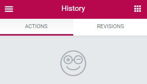 تاریخچه در صفحه ساز المنتور
