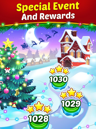 Christmas Cookie - Santa Claus's Match 3 Adventure modavailable screenshots 13