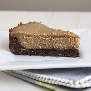 Peanut Butter-Brownie Cheesecake