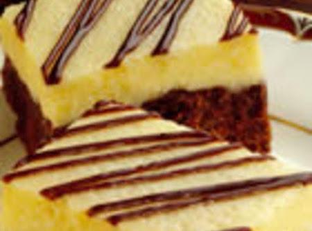 Brownie Cheescake Bars Recipe