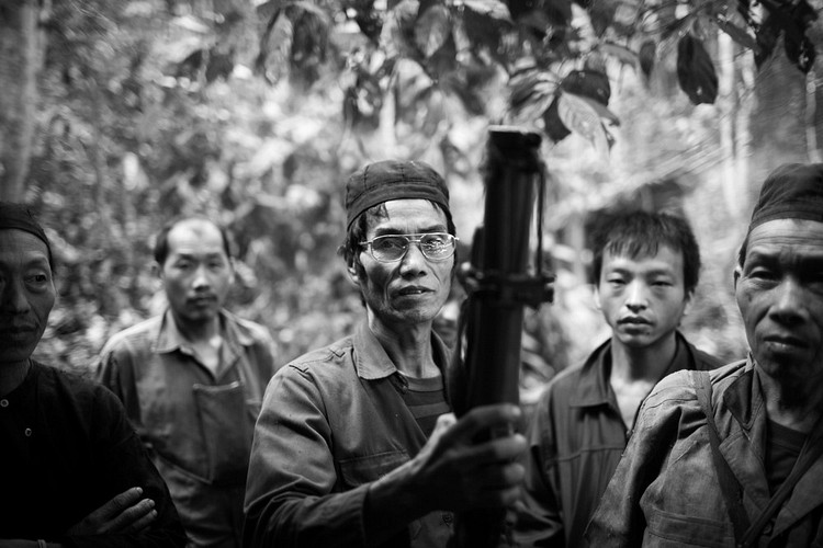 Hmong Soldiers in the Secret War