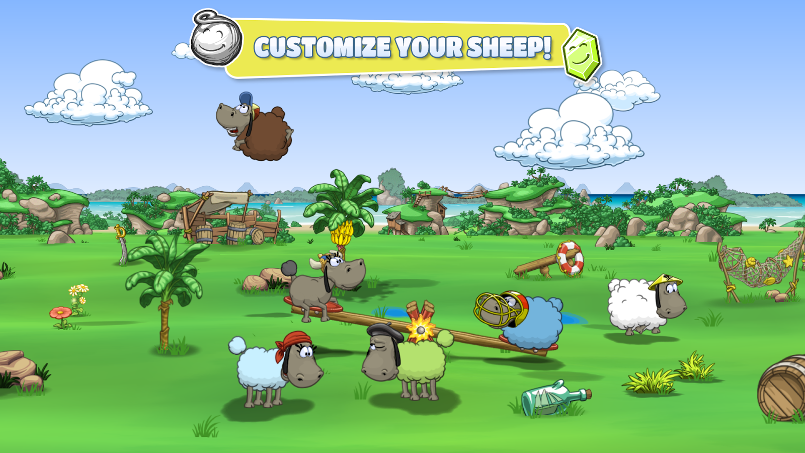 Clouds & Sheep 2- screenshot