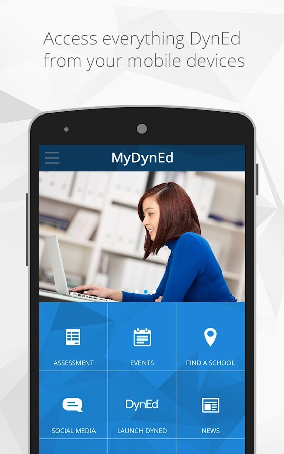MyDynEd- screenshot