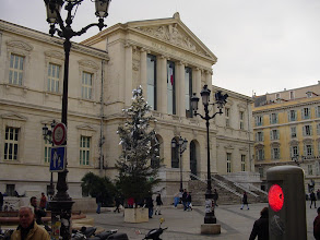 Photo: Now on the fringes of the old city, on the Place du Palais.