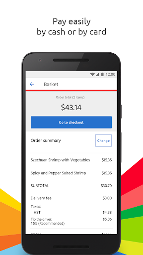 Just Eat - Order Food Delivery  screenshots 5