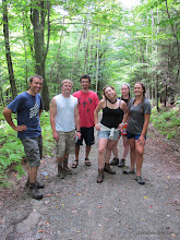 Photo: A fine group hike at Little River State Park