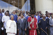 Zulu King Goodwill Zwelithini officially opened the KZN Provincial House of Traditional Leaders in Ulundi on Thursday March 14 2019.